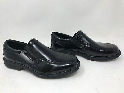 Men/'s Croft /& Barrow 131796 LUKE SlipOn Dress Shoe WIDE Black W64 New w// Defect