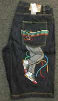 Coogi Men's Black Denim Jean Shorts With Tags Sneaker Design $135 Retail