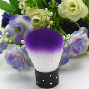 Beauty-Purple-White-Nail-Brush-For-Acrylic-amp-UV-Gel-Nail-Art-Dust-Cleaner-Tools