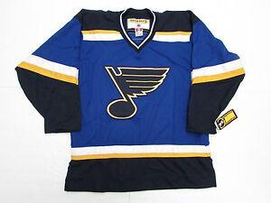 the best attitude 645ab 77b7f Details about ST. LOUIS BLUES VINTAGE KOHO NHL HOCKEY JERSEY SIZE LARGE