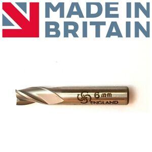 CLARKSON-FC3-ENGLAND-End-Mill-6mm-Shank-Dia-6MM-Coat-3-Flute-No106