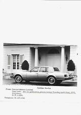 1975 USA CADILLAC SEVILLE UK PRESS PHOTO 'BROCHURE'