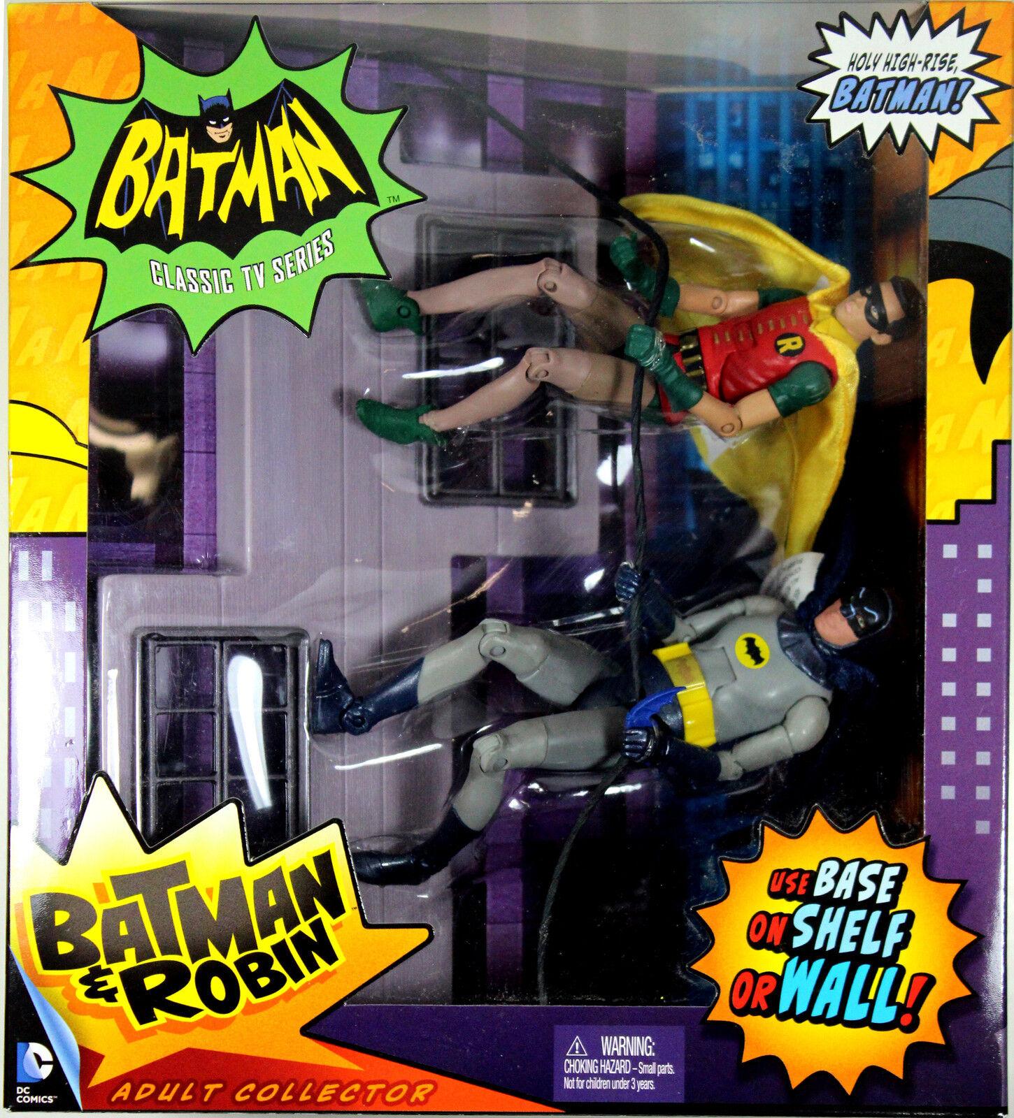 DC Universe Classics ~ BATMAN & ROBIN 1966 DELUXE ACTION FIGURE SET ~ DCUC