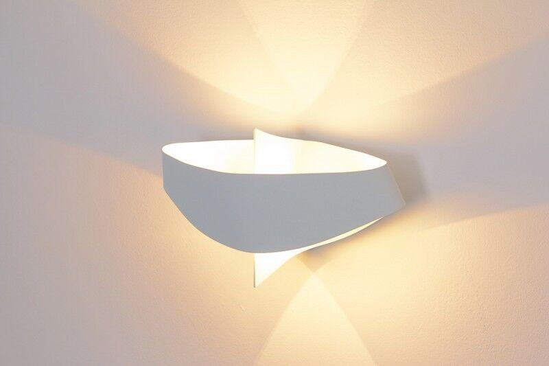 Lampada lampada lampada da parete interni applique colore bianco