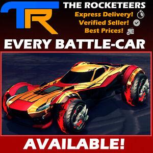 XBOX-ONE-Rocket-League-Every-Default-Battle-Car-FENNEC-ZSR-GT-SENTINEL-GP-etc