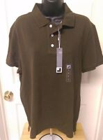 Jc Penny Men's Olive Green Polo Shirt Size L