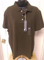 Jc Penny Men's Olive Green Polo Shirt Size L