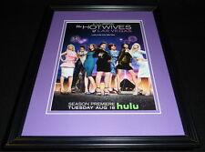 Hotwives of Las Vegas 2015 Hulu Framed 11x14 ORIGINAL Advertisement