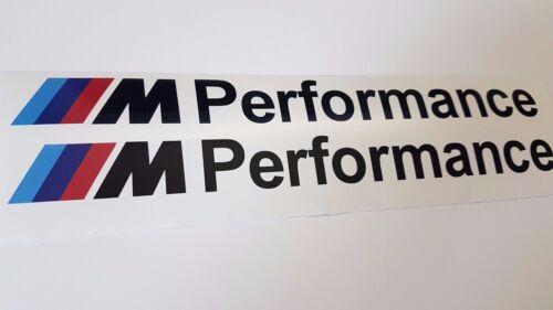 218 220 228 135 M235 M240 F22 F23 M2 BMW M Performance Aufkleber Schwarz 20cm