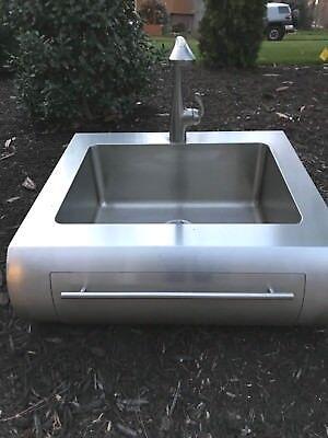 Julien 000210 Classic Farmhouse 16 Gauge Stainless Steel Kitchen Sink Ebay