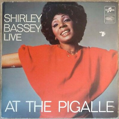 b0079ceb73d Shirley Bassey - At The Pigalle - Live LP Rare Israel pressing unique cover  1965 | eBay
