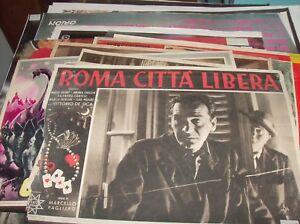 Roma-Ciudad-039-Libre-Fotobusta-Pequena-Original-1946-Pagliero-de-Sica