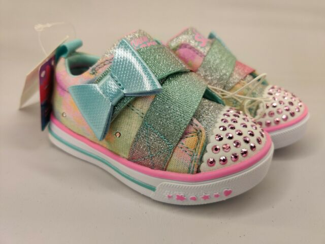 Toddler Girls' S Sport By Skechers Skyla Light-Up Sneakers - Pink Size 5