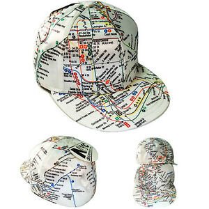 Subway Map Baseball.Details About Mta Officially Licensed New York Subway Map Theme Fitted Hat White Sublimate Cap