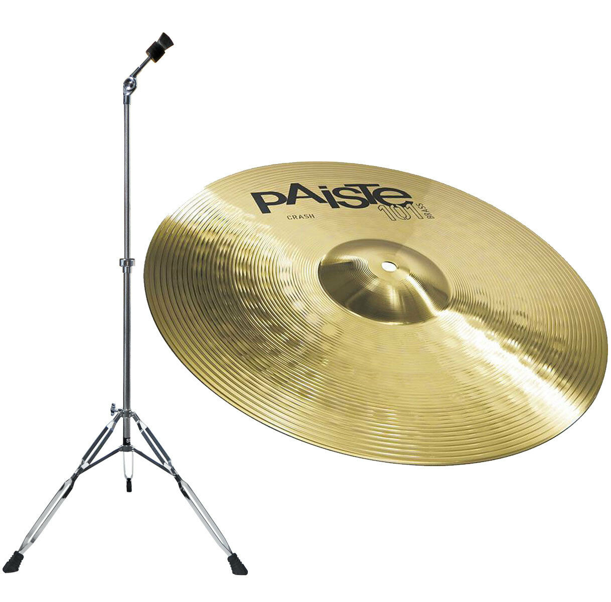 Paiste 101 Messing 14 Absturz Cymbal Stand gerade LYD-25