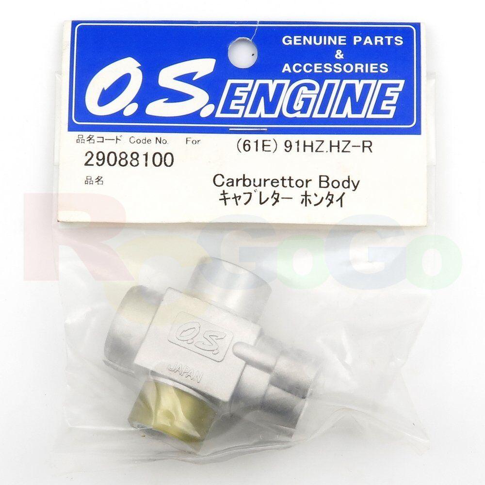 CARBURETOR BODY 61E 91HZ,91HZ-R   OS29088100 **O.S. Engines Genuine Parts**