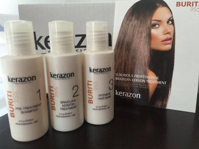 Kerazon Brazilian Keratin Complex Treatment Blowout Kit 60ml For Sale Online Ebay