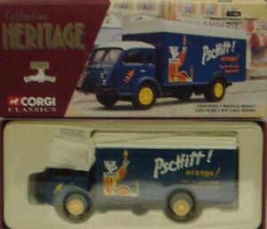 Corgi-71406-1-50-frances-patrimonio-RENAULT-FAINEANT-Fourgon-Pschitt-Soda