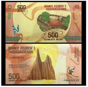 Madagascar-Banknote-500-Ariary-UNC-500-2017-2