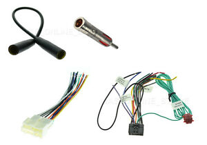 gm car stereo wiring harness antenna adapter wire for pioneer avh p1400dvd ebay