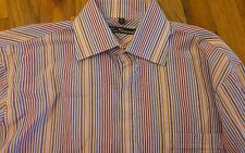 Striped Ben Sherman Button Front Shirt Size Medium