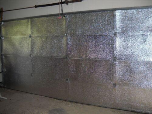 R8 Non Fiberglass Reflective Garage Door Insulation Kit 16 Feet W x 7 Feet H