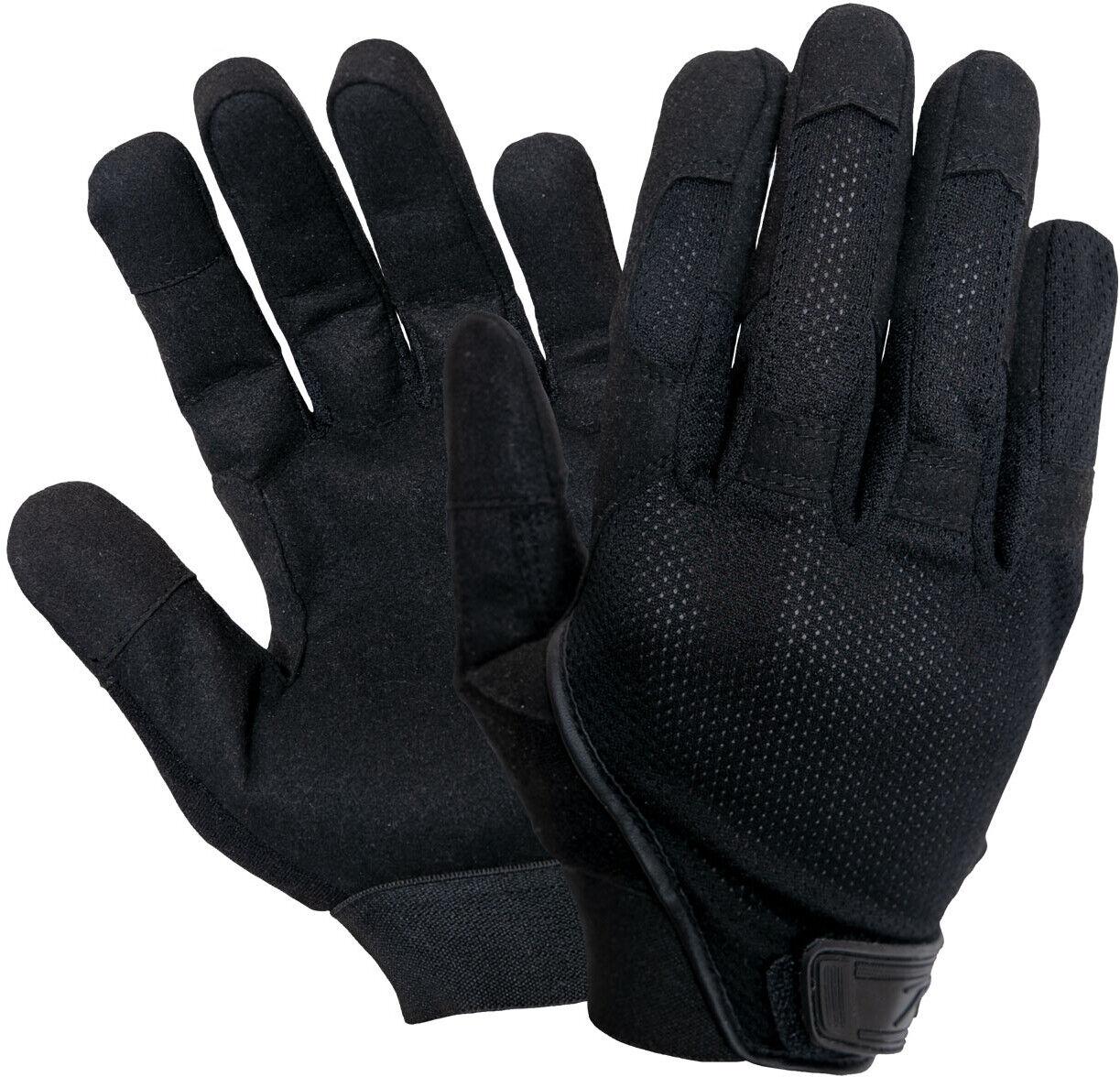 Black All Purpose Touch Screen Lightweight Mesh Tactical Combat Glove
