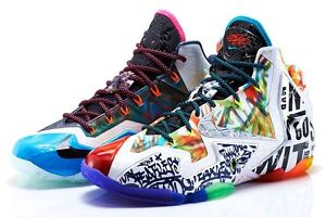 Nike LeBron 11 XI What The Size 12. 650884-400 bhm all star mvp champ pack xii