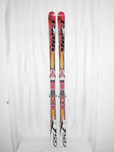 Blizzard RC CA Testski 178 cm Racecarver inkl Bindung Slalom Rennski Ski X19 Ski-Sets