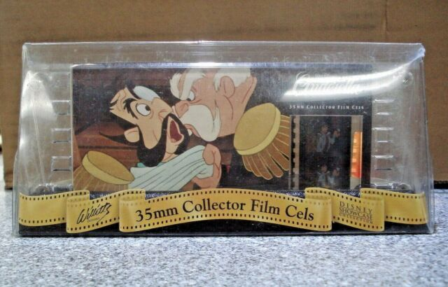 Lot  of 3 Disney/'s CINDERELLA  Edition 35mm Collector Film Cell Card
