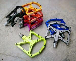BIGDOG Road MTB XC Bike Bicycle Pedal 3 Bearings Flat-Platform Pedals