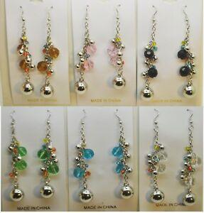 wholesale-jewelry-lot-long-ball-style-multi-colorful-drop-dangle-earring-YW82