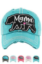 Jinscloset KBETHOS Embroidered Crazy Heifer Distressed Baseball Cap