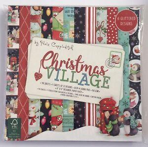 HELZ-CUPPLEDITCH-CHRISTMAS-VILLAGE-6-x-6-034-PAPER-PAD