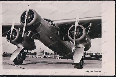 Sammeln & Seltenes Foto-ak-k.l.m.-f20-zilvermeeuw-flugzeug-airplane Ansichtskarten And To Have A Long Life.