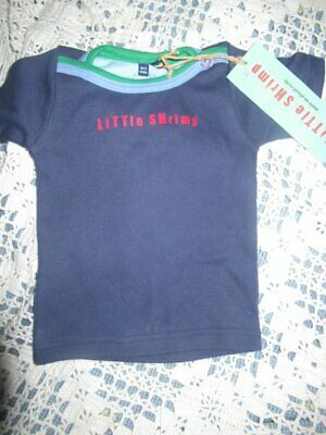NWT Boys Little Green Radicals Scottie Dog Long Sleeve Organic Cotton Tee 6-12m