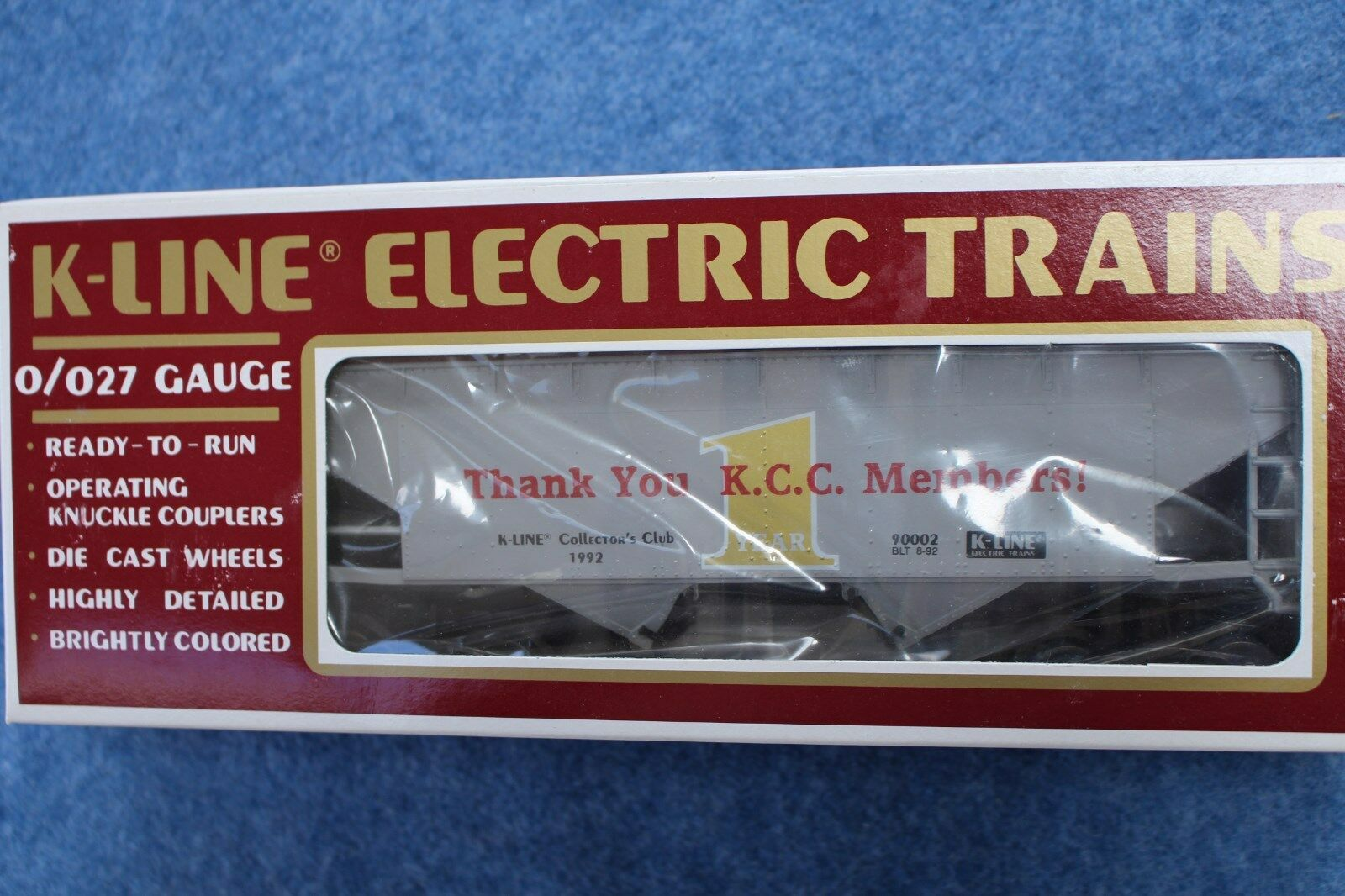 1992 k - line   k90002 danke kollegen hopper kcc collector 's club l2657