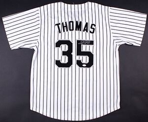 online retailer a9c92 a7bfe Details about Frank Thomas Signed White Sox Jersey (JSA COA)