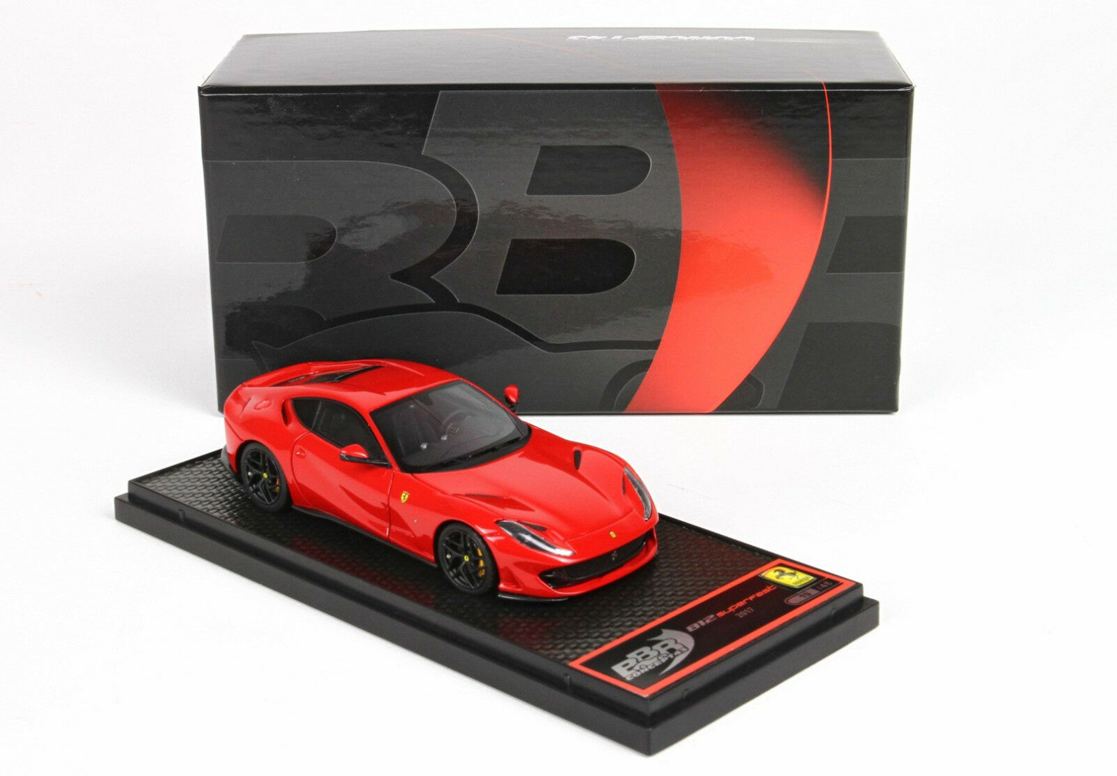 FERRARI 812 SUPERFAST 2017 red Corsa 1 43 lim.ed. 48 pcs BBRC198RCC1