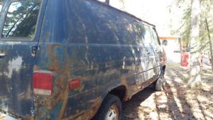 Working van for sale