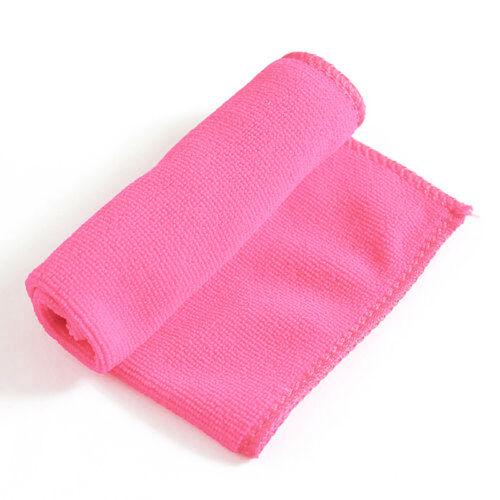 3 Pack Microfiber Cleaning Cloth No-Scratch Rag Car Polishing Detailing Towel