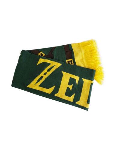 UFFICIALE la leggenda di Zelda Link Costume Sciarpa con stili Nuovo Di Zecca