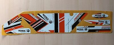 OK1 style européen DD2 radiateur autocollant Kit-ROTAX-Karting