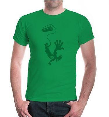 Gehorsam Herren Unisex Kurzarm T-shirt Bungeejumping Comicfigur Funsport GüNstigster Preis Von Unserer Website