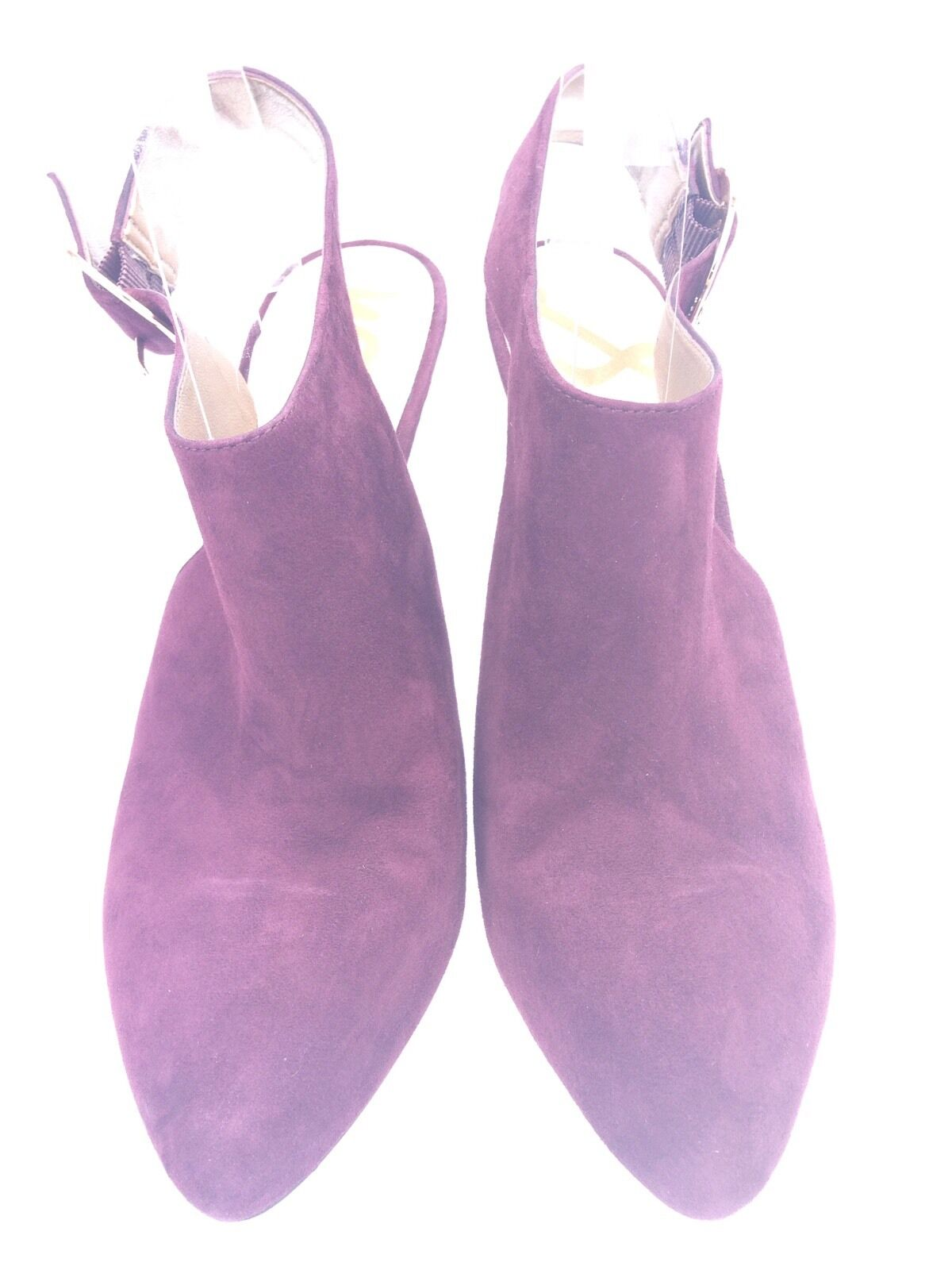 Women's Sam Edelman Julian Purple Purple Purple Suede Heels SZ 9 M Pumps 2db24f