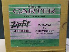 NOS Set of 3 BOXES 1953-54 Corvette Carter YH Carburetor BOXES ONLY