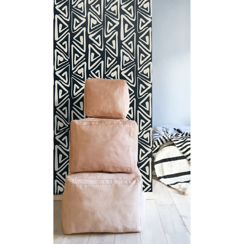 Tribal Boho Non-Woven wallpaper WaterFarbe wall wall mural Farbeful Home decor