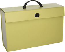 Smead Portable Expanding File Box 19 Pockets Alphabetic A Z And Subject