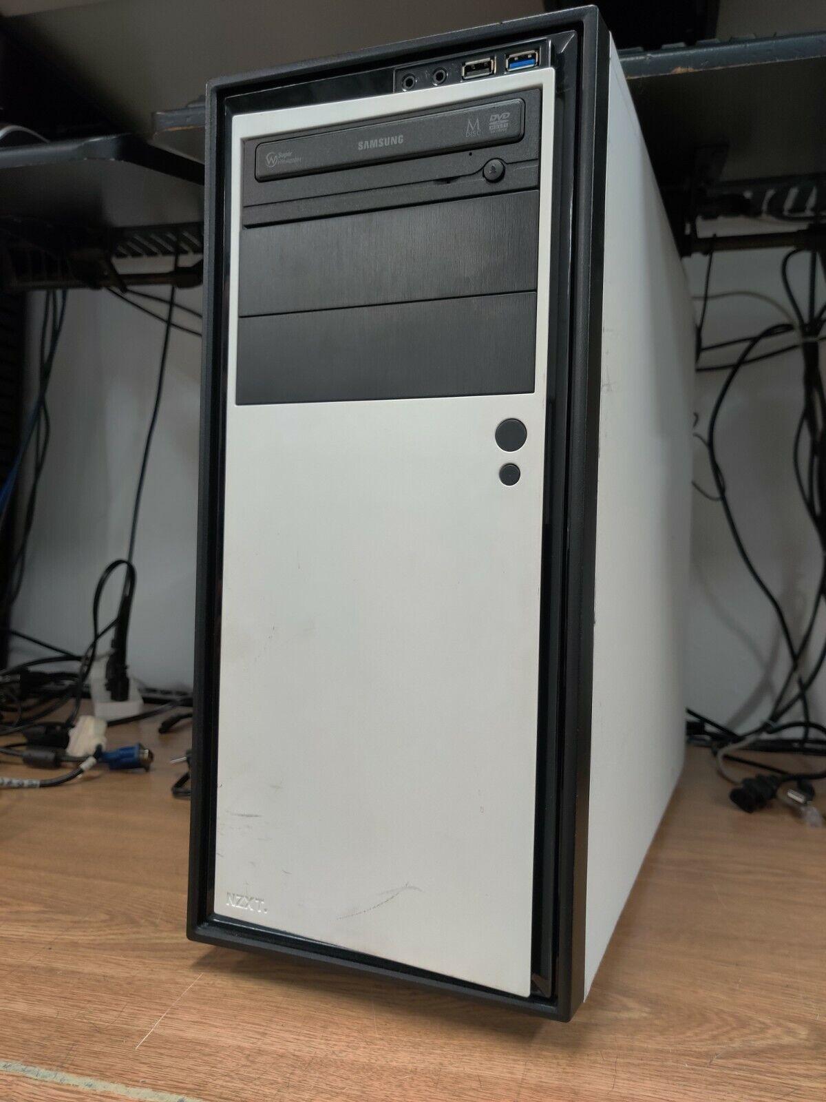 White MSi Gaming PC Intel i5-4570 3.2GHz 16GB RAM 120GB SSD 2TB HDD NO GPU j