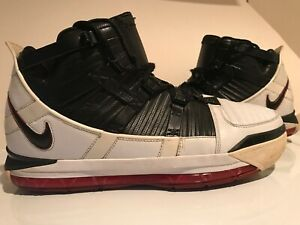6589d65df393b 2005 Nike Zoom LeBron III 3 OG 312147-101 Varsity Red Lebron James ...
